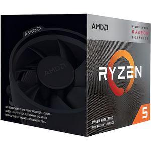 PROCESSEUR CPU AMD RYZEN 5 3400G BOX Socket AM4 (3.7 /4.2GHz)