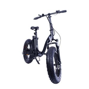 VÉLO ASSISTANCE ÉLEC Vélo Electrique Tout Chemin Black Fat Bike YADEA F