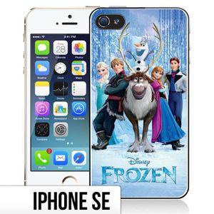 COQUE - BUMPER Coque iPhone SE La Reine Des Neiges - Personnages