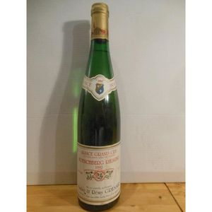 VIN BLANC riesling gresser grand cru moenchberg blanc 1992 -
