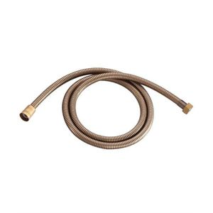 1.5 m en acier inoxydable Laiton antique Flexible de douche remplacement à...