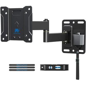 FIXATION - SUPPORT TV Mounting Dream Support Mural TV pour Caravane-Camp