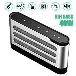 ENCEINTE NOMADE Enceinte Bluetooth CSR 40W NFC Tactile Sans Fil Hi