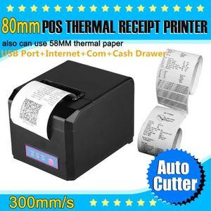 IMPRIMANTE Excelvan 300mm/sec 80mm AUTO-CUT USB Imprimante Th
