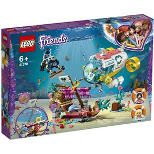 ASSEMBLAGE CONSTRUCTION LEGO® Friends 41378 La mission de sauvetage des da