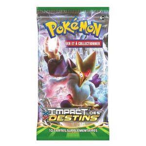 CARTE A COLLECTIONNER Pokémon - Booster Impact des Destins - A l'unité