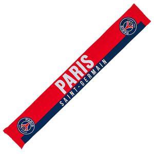 ECHARPE - FOULARD PSG - Echarpe PSG 'Paris' Officielle - Rouge aille