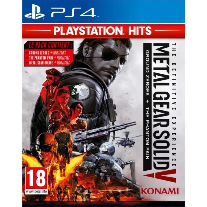 Metal Gear Solid Definitive Experience Playstation Hits Jeu PS4