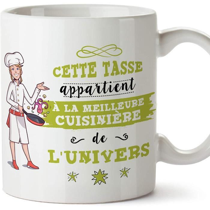 Mug - Tasse Cuisinière de l'univers - Idées Drôles Cuisine 1