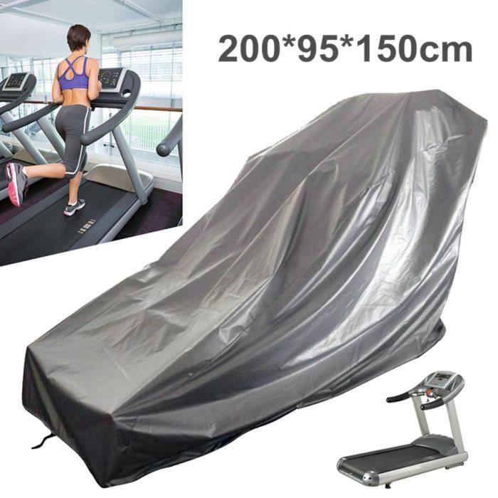 Housse de Protection pour Tapis de Course en Tissu Oxford imperméable et anti poussière 200 x 95 x 150 cm
