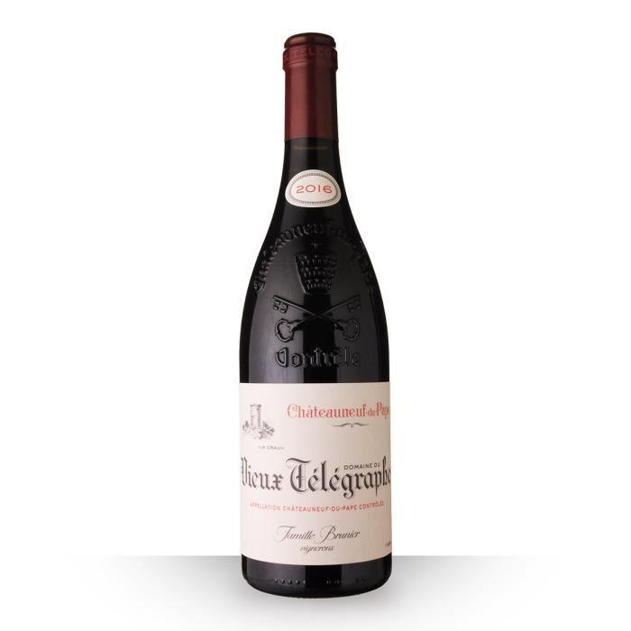 Domaine du Vieux Télégraphe 2016 AOC Châteauneuf-du-Pape - 75cl - Vin Rouge