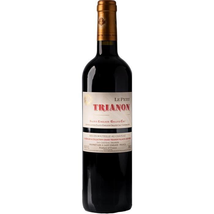Le Petit Trianon 2013 - vin rouge - Saint Emilion Grand Cru AOC - 1 bouteille.