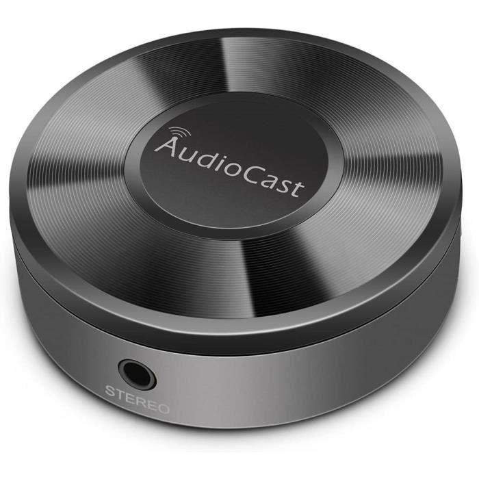 Adaptateur de Musique ACEMAX M5 Audio DLNA Airplay en Streaming Audio vers Les Haut-parleurs Via Le réseau Wi-FI à partir de périphé