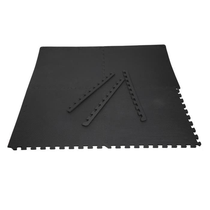 SOL - EVA Mousse Exercice Tapis de Sol Fitness Puzzle Tapis Gym Pad Bébé Enfants Crawl Mat Plus 6pcs