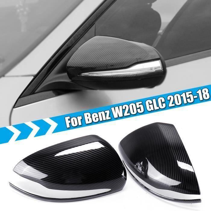 Rétroviseur Couverture Capuchon De Protection Fibre De Carbone Pour Mercedes-Benz W205 GLC 15-18 Da35534