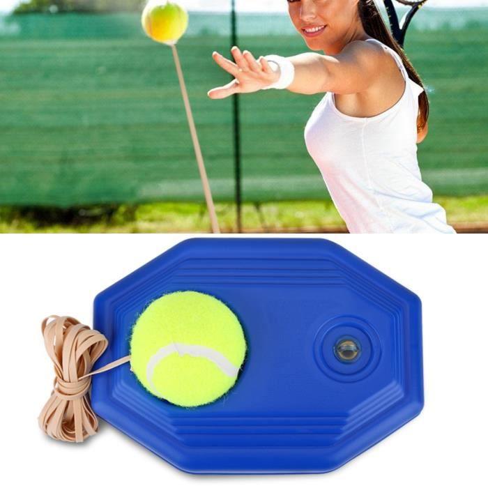 Tennis Trainer Tennis Tool avec corde élastique en caoutchouc