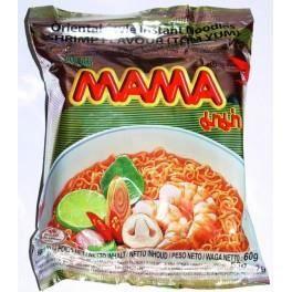 Carton 30 Soupes Nouilles Mama Crevettes Tom Yu...