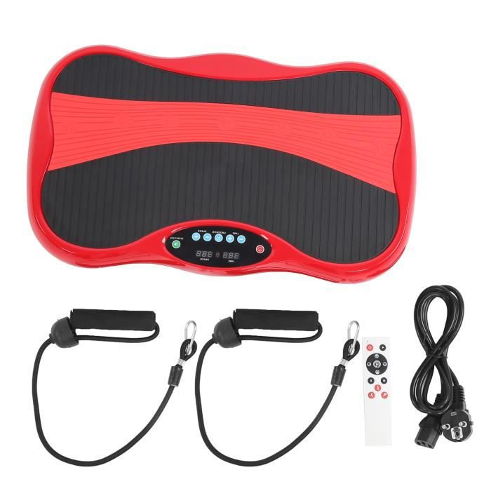 KAI Plateforme Vibrante Oscillante pour Fitness, Masseur de Fitness, Machine de Forme de Corps à Vibration avec télécommande
