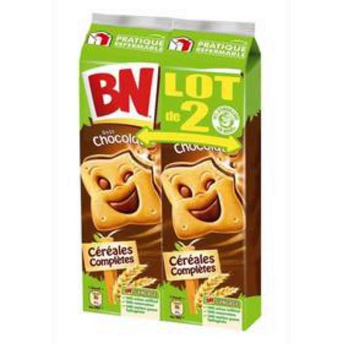 BN Biscuits fourrés gout chocolat - x16 2x 295 g