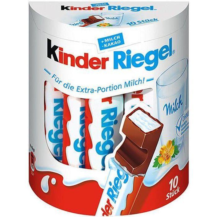 Ferrero Kinder Riegel 10 Barres (210g) 4 pièces