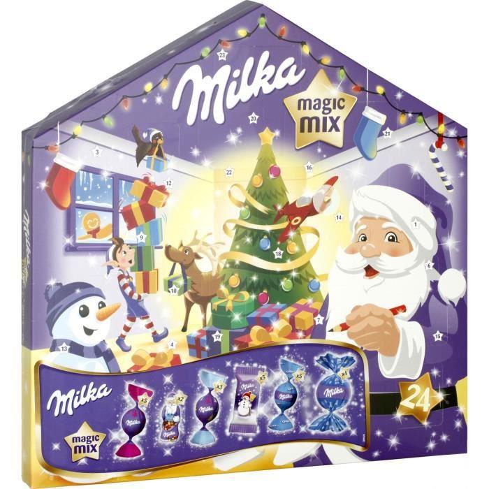 Chocolat de Noël: Calendrier de l'Avent Magic Mix Milka, 158,5gr