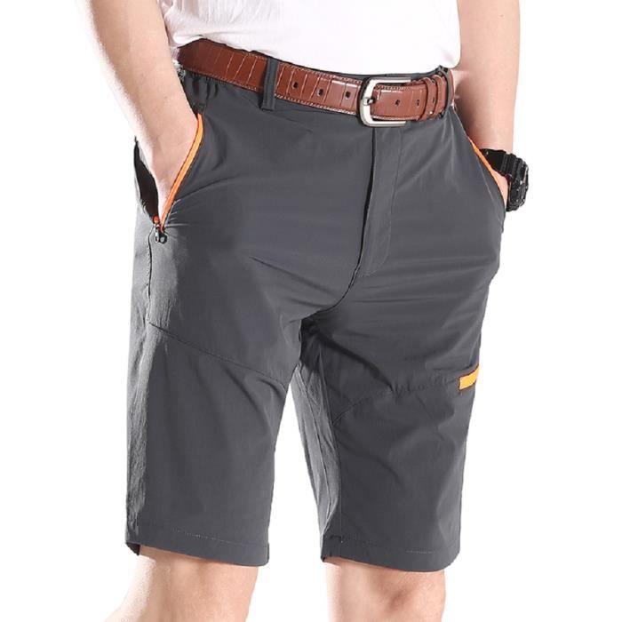 Bermuda à séchage rapide Shorts Hommes cinquième Sport short Leisure Mode En Polyester Europeenne Taille