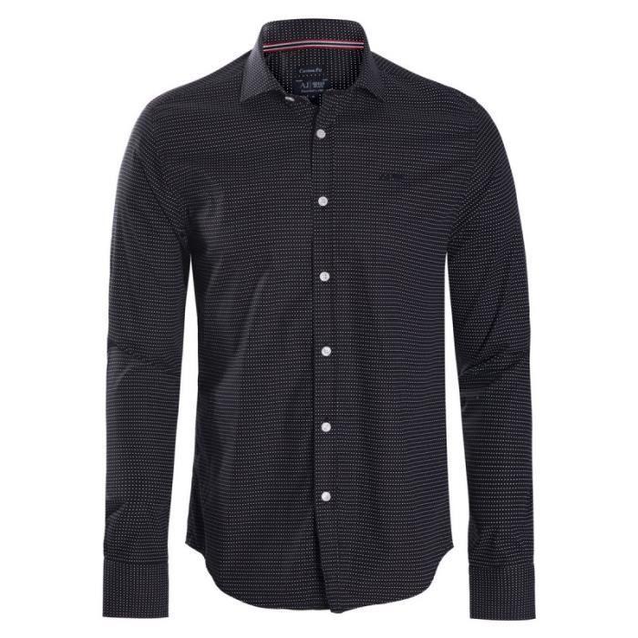 Armani Jeans Chemise Homme Noir