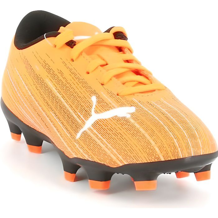 CHAUSSURES DE FOOTBALL POUR ENFANTS PUMA ULTRA 4. FG / AG JR 106100001 ORANGE