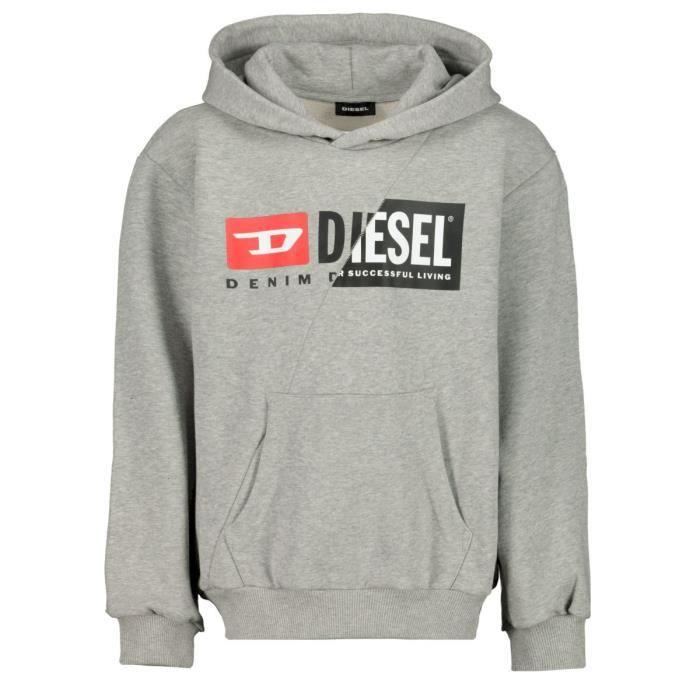 Diesel Garçon sweaters en couleur Gris - Taille 152