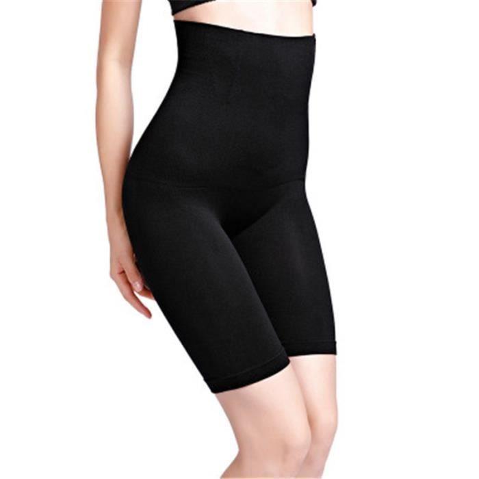 CEINTURE - BOUCLE DE CEINTURE,Femmes sans couture Shapers taille haute minceur ventre contrôle pantalon culotte - Type Black-XS-S