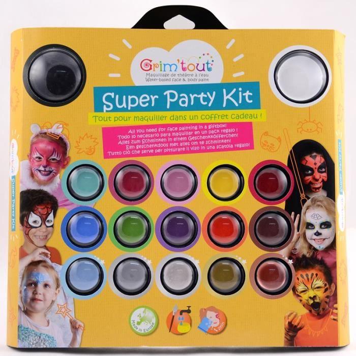 Kit de Maquillage super Party Grim'Tout