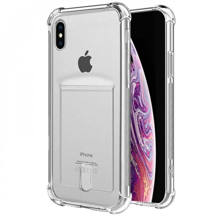 coque iphone xr jolie transparent mantis iphone