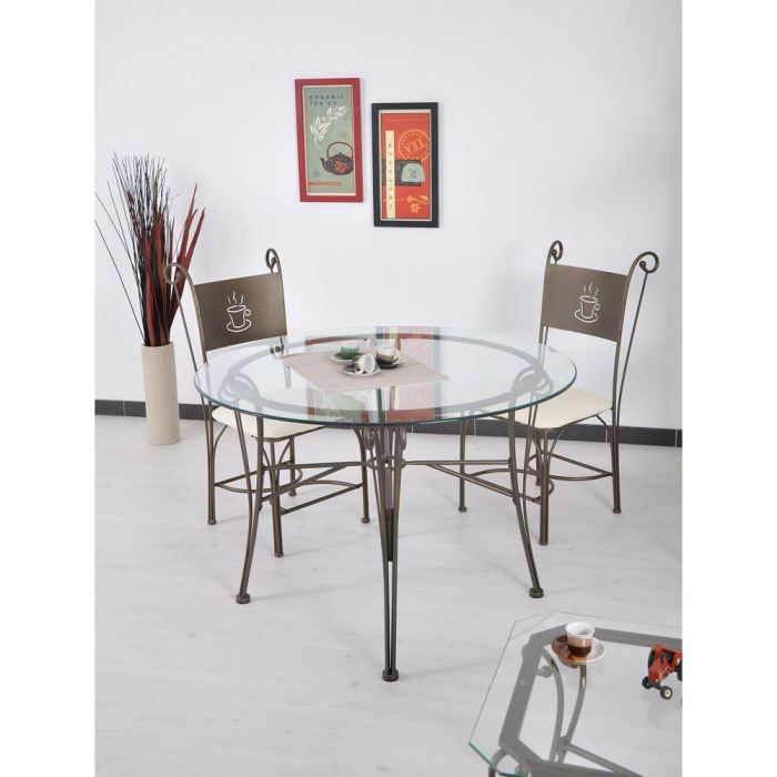 table ronde gringo achat vente table a manger seule. Black Bedroom Furniture Sets. Home Design Ideas