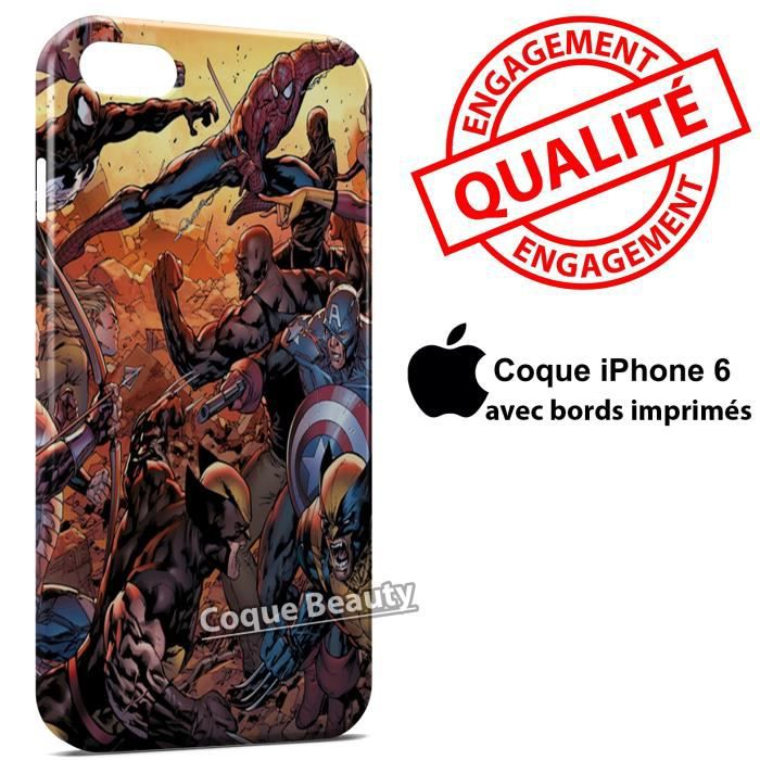 avenger coque iphone 6