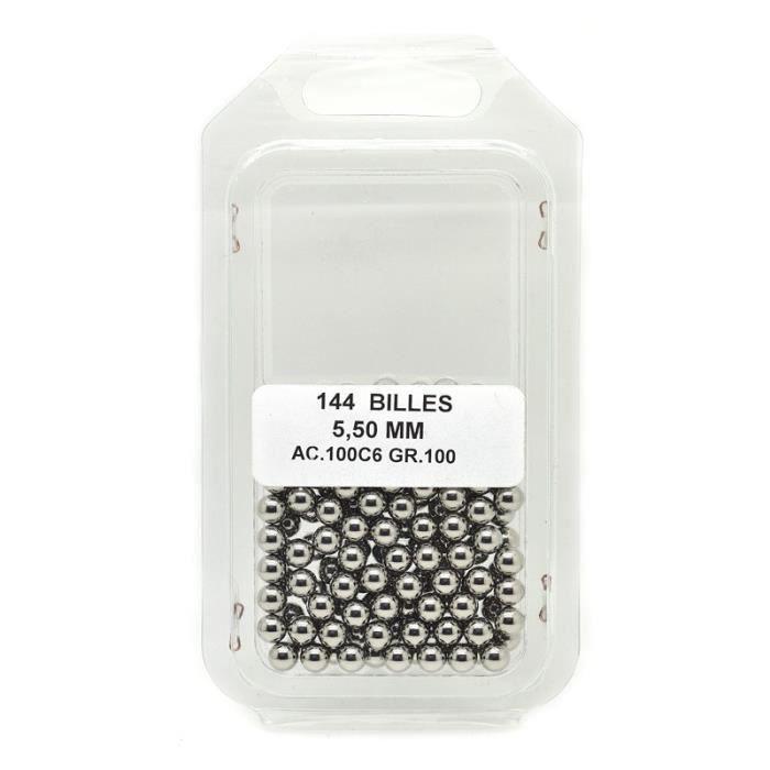 """Bille acier 3,175mm - Accessoire Vélo 1//8/"""" 1 grosse de 144 billes"""