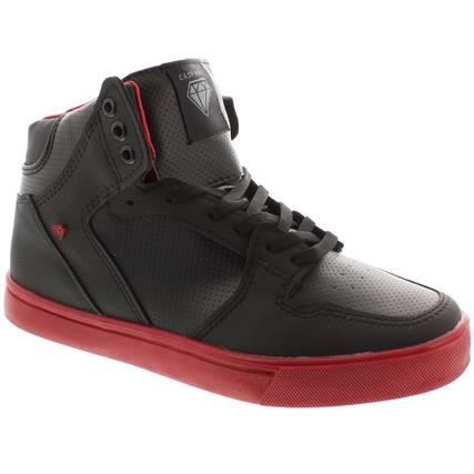 BASKETS CASH MONEY CMS13 HOLLY RED NOIR