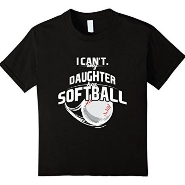 T-SHIRT je ne peux pas ma fille goodthreads tshirt softbal