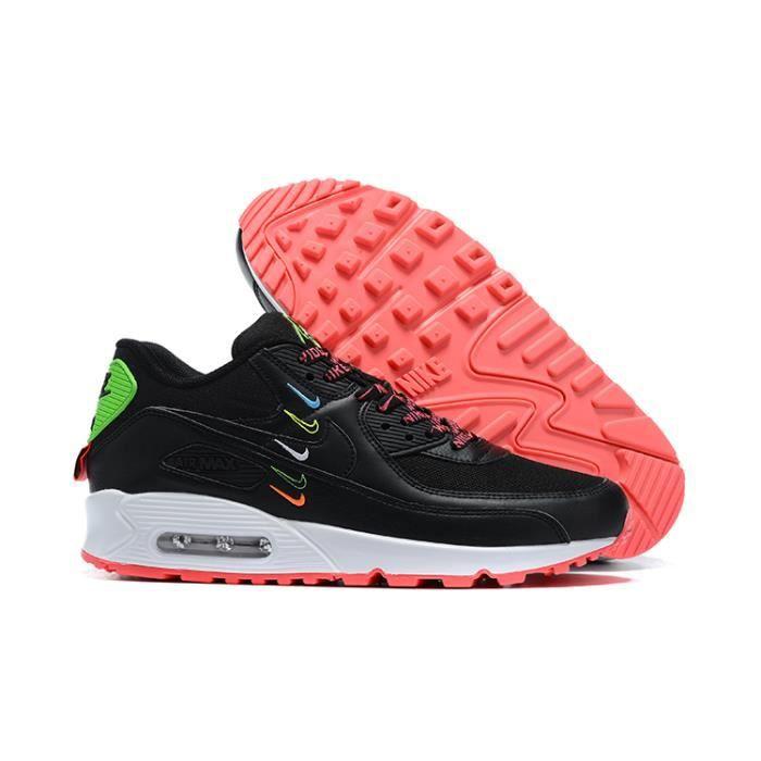 Baskets Nike Air Max 90 Chaussures de running pour Homme Noir ...