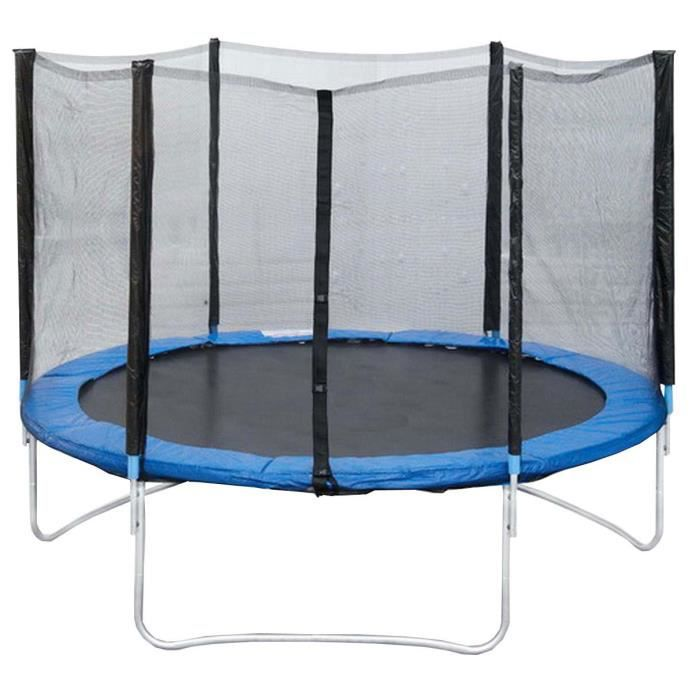 trampoline avec filet 3m. Black Bedroom Furniture Sets. Home Design Ideas