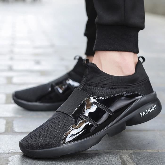 Hommes maille respirante Chaussures Casual Outdoor Sport Chaussures Chaussures de course