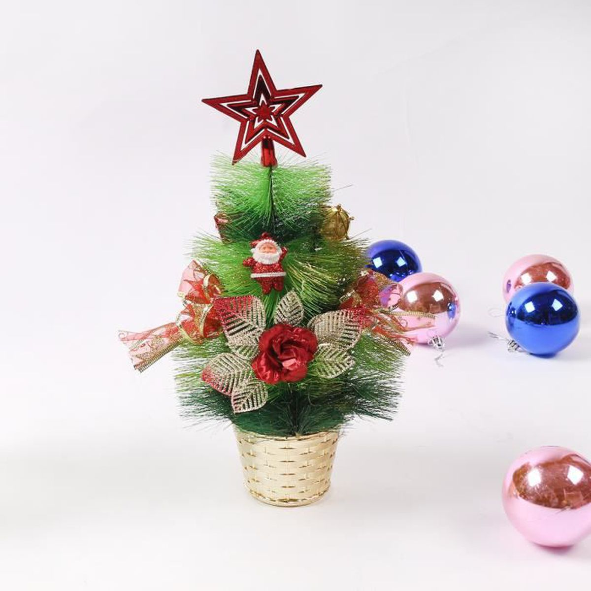 Sapin table pvc d coration noel diverses occasions for Achat decoration de noel