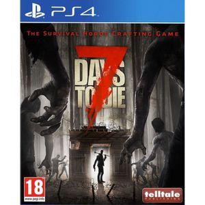 JEU PS4 7 Days to Die Jeu PS4