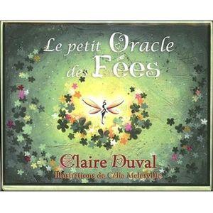 LIVRE PARANORMAL Le petit oracle des fées