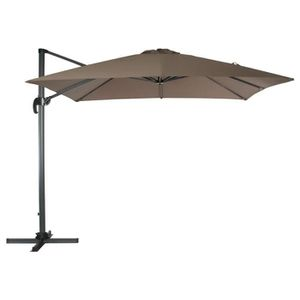 parasol deporte taupe achat vente parasol deporte taupe pas cher cdiscount. Black Bedroom Furniture Sets. Home Design Ideas