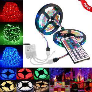 BANDE - RUBAN LED 10M 3528 SMD RGB 600 LED bande de ruban de chaîne