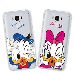 COQUE - BUMPER 2 X Coque ASUS ZenFone 3 Max ZC553KL,Disney Duck D