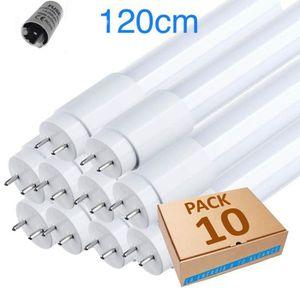 TUBE LUMINEUX Lot x10 tube néon led T8 120cm blanc froid