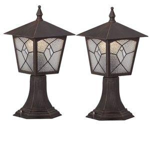 LAMPE DE JARDIN  2 x luminaire extérieur jardin terrase lanterne la