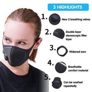 masque anti grippe reutilisable