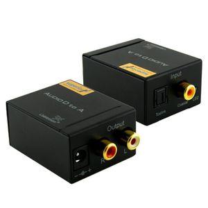 REPARTITEUR TV Convertisseur Audio Numérique vers Analogique SAP-